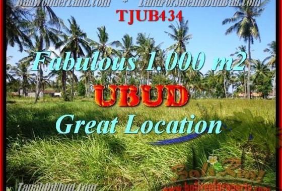 JUAL MURAH TANAH di UBUD BALI TJUB434