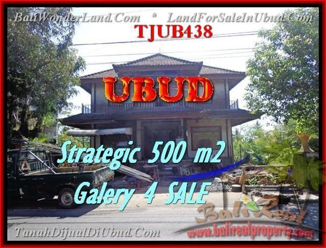 INVESTASI PROPERTI, TANAH DIJUAL di UBUD TJUB438