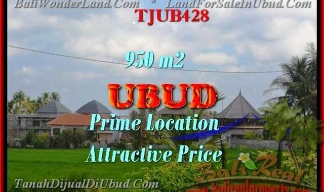 INVESTASI PROPERTY, JUAL MURAH TANAH di UBUD BALI TJUB428