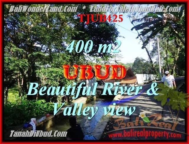 JUAL TANAH MURAH di UBUD 4 Are View sungai dan Tebing
