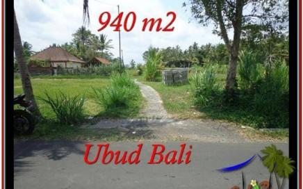 INVESTASI PROPERTY, JUAL TANAH MURAH di UBUD TJUB531
