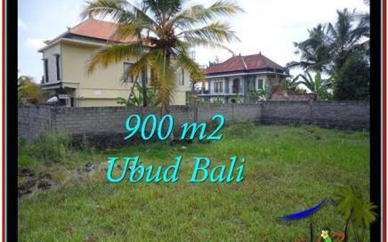 TANAH MURAH JUAL di UBUD BALI 900 m2 View Sawah, Link villa