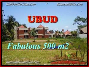 TANAH JUAL MURAH  UBUD BALI 500 m2  View  sawah gunung link villa