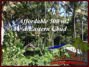 TANAH di UBUD JUAL MURAH 5 Are View Kebun link Villa