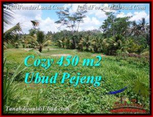 TANAH JUAL MURAH UBUD 450 m2 View Sawah link villa