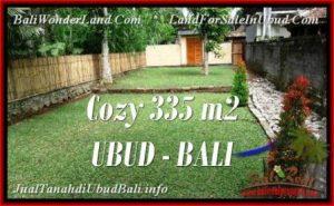 TANAH di UBUD BALI DIJUAL MURAH Untuk INVESTASI TJUB537