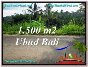 DIJUAL MURAH TANAH di UBUD BALI TJUB556