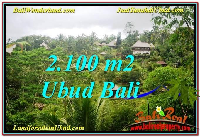 JUAL MURAH TANAH di UBUD 2,100 m2 di Ubud Payangan