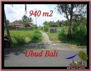 TANAH MURAH DIJUAL di UBUD BALI Untuk INVESTASI TJUB531