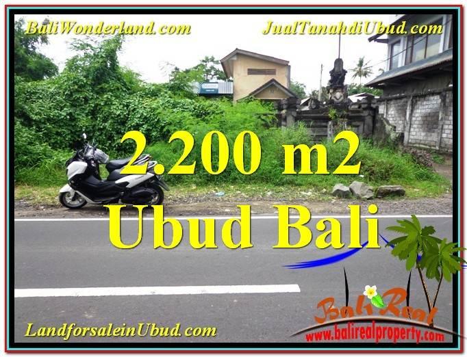 INVESTASI PROPERTI, DIJUAL MURAH TANAH di UBUD BALI TJUB565