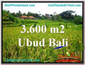 JUAL TANAH MURAH di UBUD 36 Are di Sentral Ubud