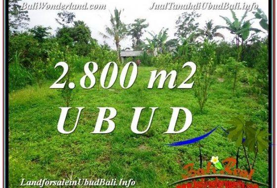 JUAL TANAH MURAH di UBUD 28 Are View kebun