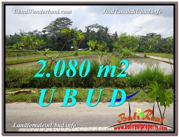TANAH DIJUAL MURAH di UBUD BALI 2,080 m2 di Ubud Pejeng