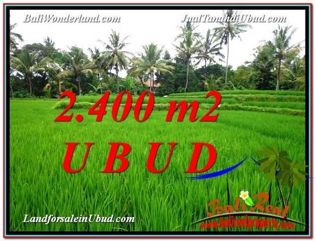 TANAH di UBUD DIJUAL MURAH 24 Are di Sentral Ubud