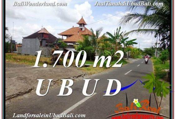 TANAH MURAH di UBUD BALI 1,700 m2 di Sentral Ubud