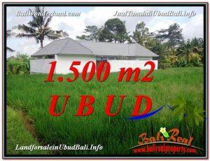 TANAH di UBUD JUAL MURAH 15 Are View  link Villa