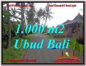 JUAL MURAH TANAH di UBUD Untuk INVESTASI TJUB604