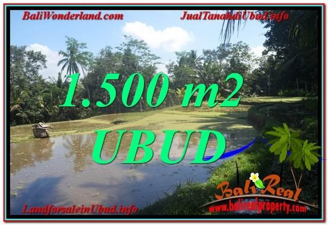 JUAL MURAH TANAH di UBUD Untuk INVESTASI TJUB630
