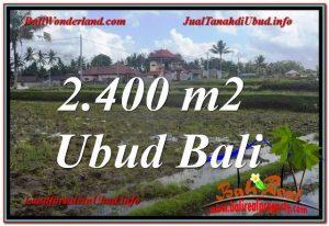 TANAH JUAL MURAH UBUD 24 Are View Sawah lingkungan Villa