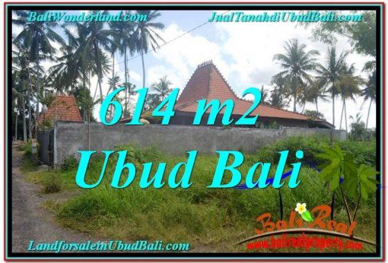 INVESTASI PROPERTY, JUAL TANAH MURAH di UBUD BALI TJUB622