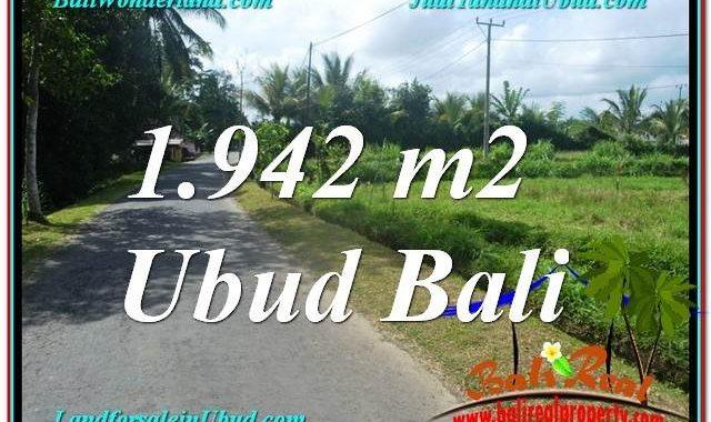 INVESTASI PROPERTY, TANAH DIJUAL MURAH di UBUD BALI TJUB626