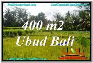 TANAH di UBUD DIJUAL MURAH Untuk INVESTASI TJUB627