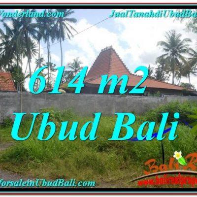 DIJUAL TANAH di UBUD BALI 614 m2 di Sentral Ubud