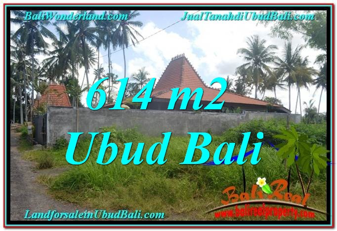 TANAH MURAH di UBUD BALI 614 m2 di Sentral Ubud