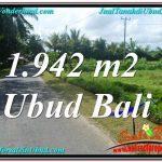 TANAH MURAH di UBUD BALI 1,942 m2 di Ubud Pejeng