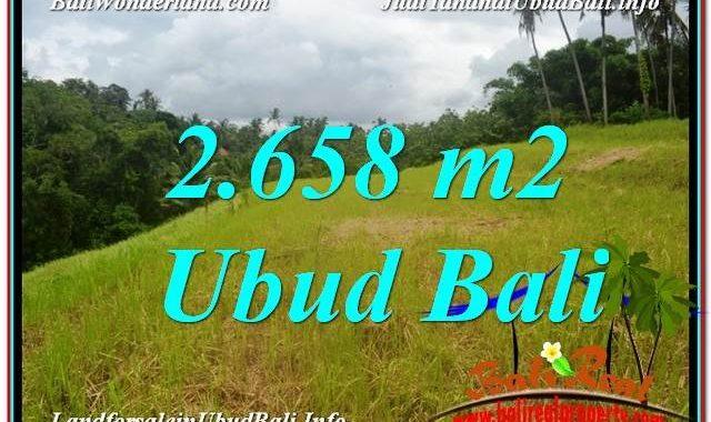 INVESTASI PROPERTI, TANAH MURAH DIJUAL di UBUD BALI TJUB641