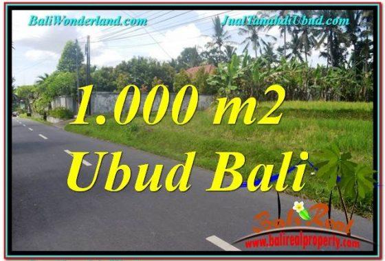 JUAL MURAH TANAH di UBUD 10 Are View Sawah dan Sungai Kecil, Link. Villa