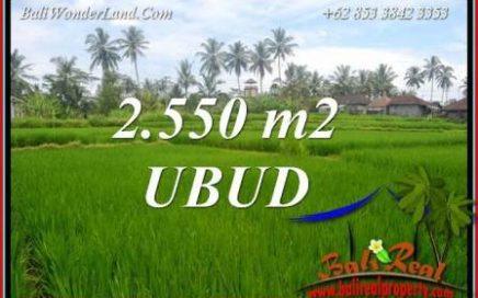 JUAL Murah Tanah di Ubud Bali 26 Are View sawah dan pangkung lingk. villa