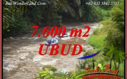Tanah Murah di Ubud Bali Dijual 7,600 m2 di Semana Badung