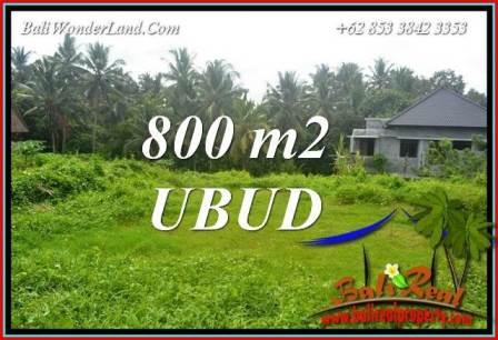 Investasi Property, Tanah di Ubud Dijual Murah TJUB706