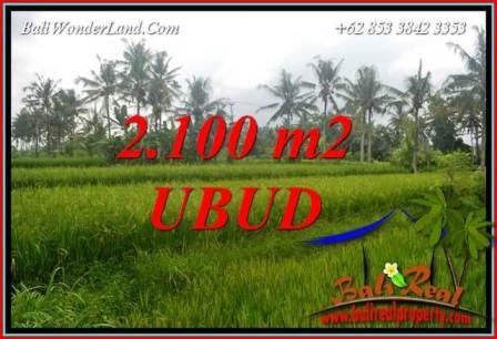 JUAL Murah Tanah di Ubud 21 Are View Sawah