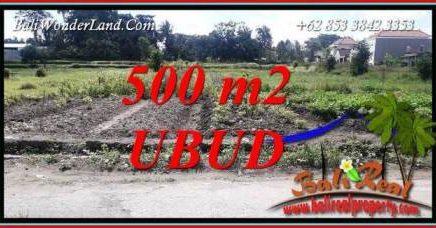 JUAL Tanah Murah di Ubud Bali 500 m2 View Lingkungan Villa