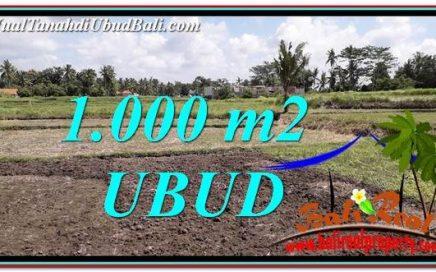 JUAL TANAH di UBUD 10 Are di Sentral Ubud