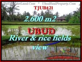 JUAL MURAH TANAH di UBUD BALI 2,600 m2 di Ubud Tegalalang