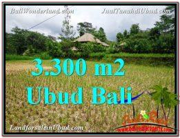 TANAH JUAL MURAH  UBUD 33 Are View kebun dan sawah