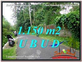 DIJUAL TANAH di UBUD BALI Untuk INVESTASI TJUB576