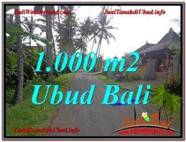 JUAL MURAH TANAH di UBUD BALI TJUB604