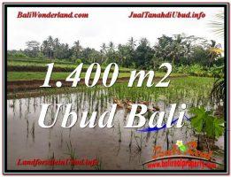 TANAH DIJUAL MURAH di UBUD 1,400 m2 di Ubud Payangan