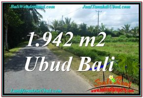 INVESTASI PROPERTI, TANAH MURAH DIJUAL di UBUD BALI TJUB626
