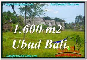 DIJUAL MURAH TANAH di UBUD BALI 1,600 m2 di Sentral / Ubud Center