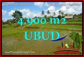 TANAH di UBUD BALI DIJUAL MURAH 49 Are View Sawah link Villa