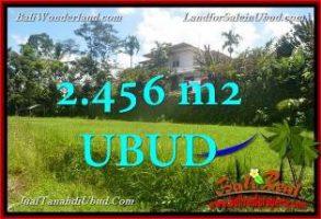 TANAH MURAH di UBUD BALI 2,456 m2 di Ubud Tegalalang