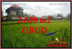 Investasi Property, Tanah di Ubud Dijual Murah TJUB701