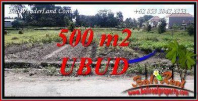 JUAL Tanah di Ubud 500 m2 di Sentral Ubud
