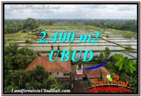 TANAH di UBUD BALI DIJUAL 24 Are View Sawah link Villa